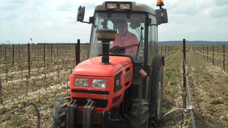 Plowing the soil 01m 58s