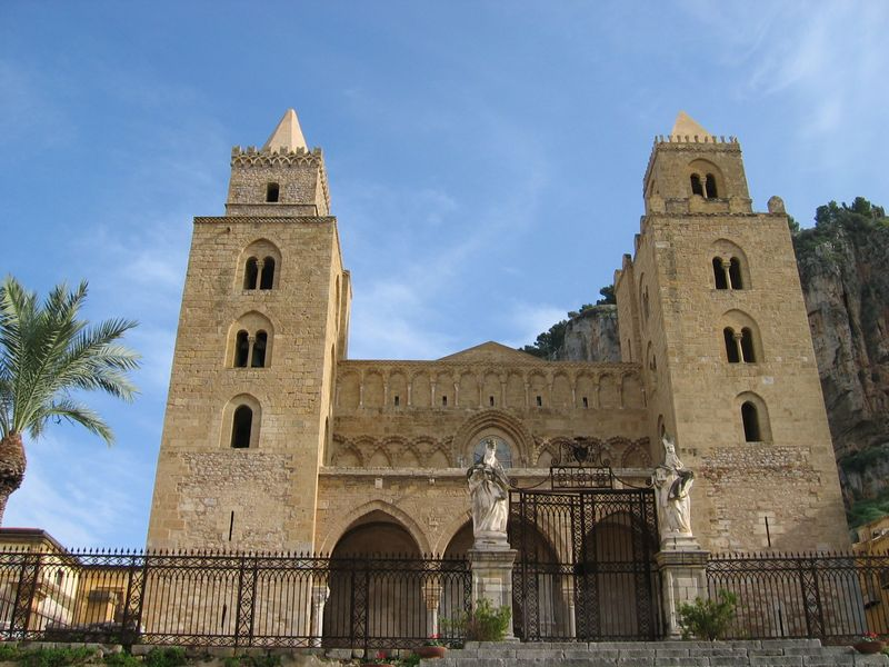 Cefalu church