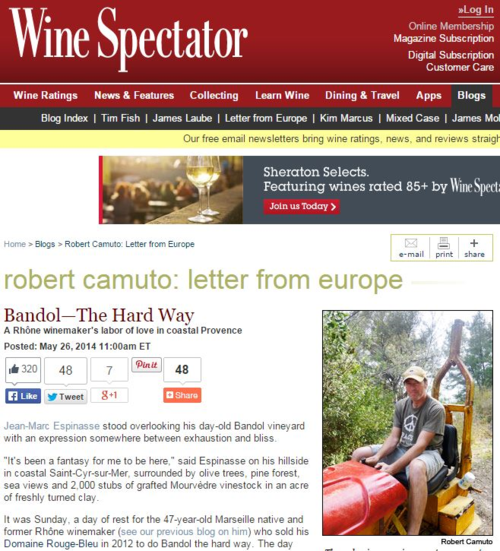 WS Robert Camuto article