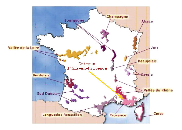 french wine a day Coteaux dAixenProvence